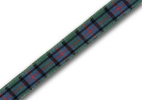 Flower of Scotland tartan ribbon 7mm