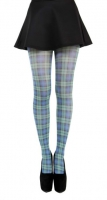 Black Watch tartan tights