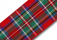 Royal Stewart tartan ribbon 40mm
