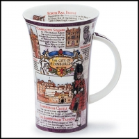 Ciry of Edinburgh fine bone china mug