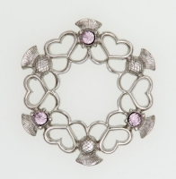 Alliance brooch
