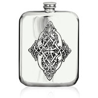 6oz Celtic flask