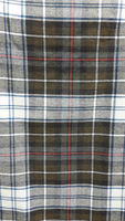 MacKenzie dress weathered tartan