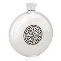 Never ending knot round flask