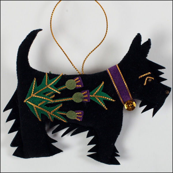 Scottish Terrier Christmas Decoration Christmas