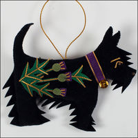 Scottish terrier decoration