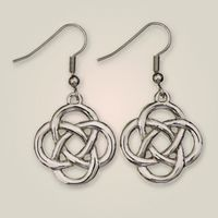 Jura knot earrings