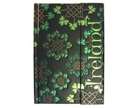 Shamrock garlands notebook