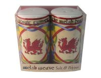 Welsh salt & pepper set