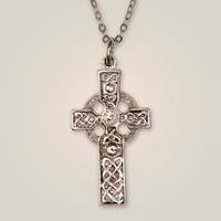 Columba cross pendant
