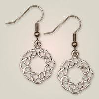 Interlace earrings
