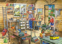 Fred's Shed - Find the Difference 1000 pcs