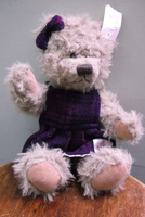 Girl Teddy in Harris Tweed 25cm