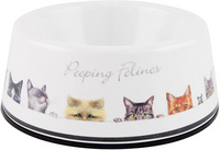 Peeping Felines Pet Bowl