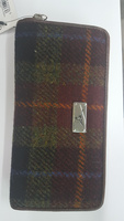Staffa Harris Tweed Long Purse