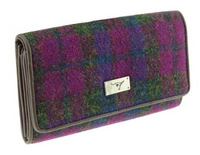 Tiree Harris Tweed Purse