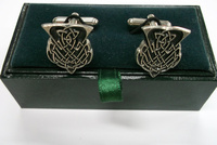Pewter Thistle Cufflinks