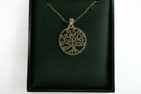 Spiral Tree of Life Necklace