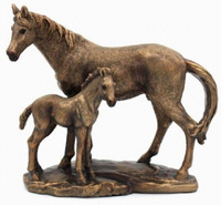 Mare and Foal figurine