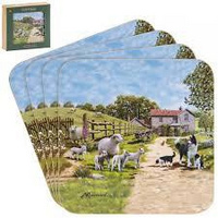 Collie & Sheep  coasters