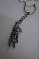 Metal Piper Keyring