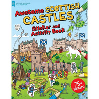 sc castles sticker book