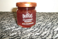 Mrs Bridges Strawberry Preserve with Champagne 42g