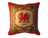 Welsh Dragon Cushion Cover