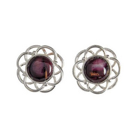 Mor Stud Earrings