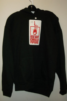 Red Hot Chilli Pipers Hoodie - Black