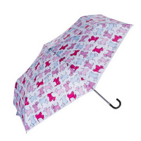 Scottie White and Pink Unbrella