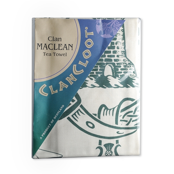 Clan Cloot Tea Towel Scottish Clan Giftware The