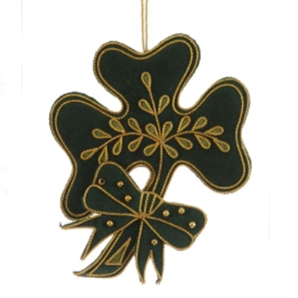 Christmas Decoration Hire Nz : Irish shamrock christmas decoration scottish nz