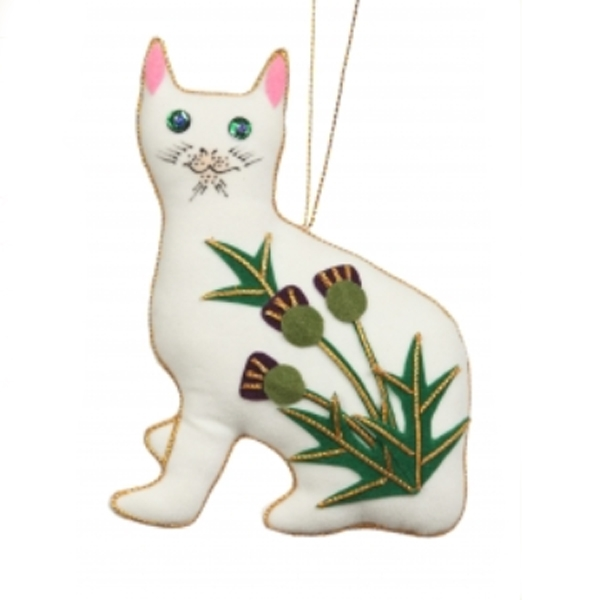 wemyss cat xmas decoration
