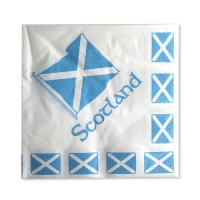 Scottish saltire serviettes
