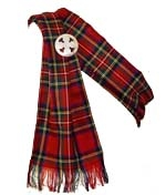 Clan tartan sash for ladies