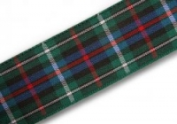 25mm Rose hunting tartan ribbon