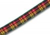 10mm Buchanan tartan ribbon