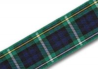 25mm Campbell of Argyll tartan ribbon