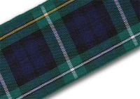 38mm Campbell of Argyll tartan ribbon