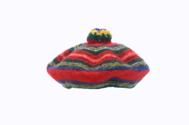Scottish knitted tam o shanter  44f5d96a8a2