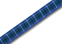 Douglas ancient tartan ribbon 10mm