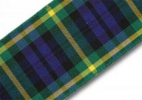 Gordon tartan ribbon 38mm