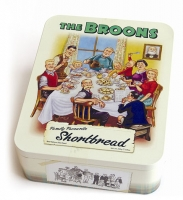 The Broons shortbread tin
