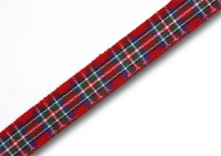 Stewart Royal tartan ribbon 10mm