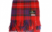 Fraser Dress/red modern tartan rug